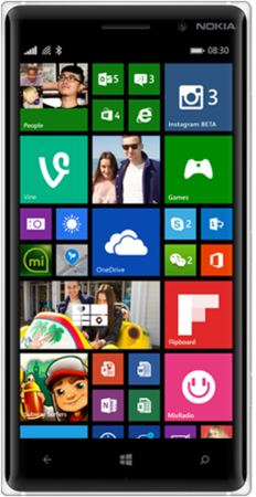 Смартфон Nokia Lumia 830 White