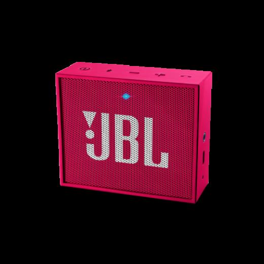 Портативная акустика JBL GO Pink