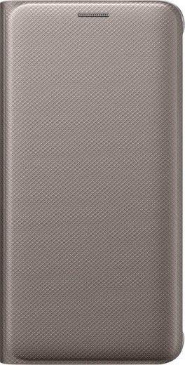 Чехол Samsung Flip Wallet для Samsung Galaxy S6 edge+ Gold (EF-WG928PFEGRU)