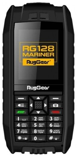 Мобильный телефон RugGear RG128 Mariner Black
