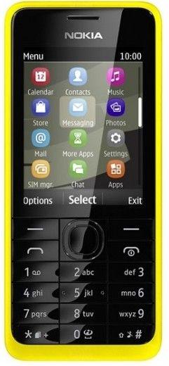 Мобильный телефон Nokia 301 Dual Sim Yellow