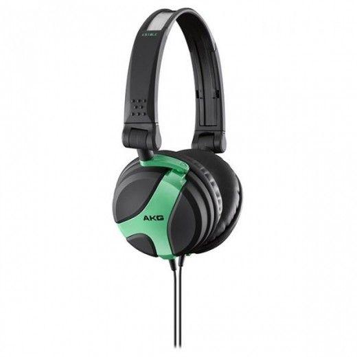 Навушники AKG K 518 Neon Green (K518NEGRN)