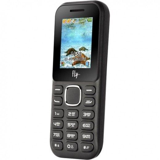 Мобильный телефон Fly DS104D Black