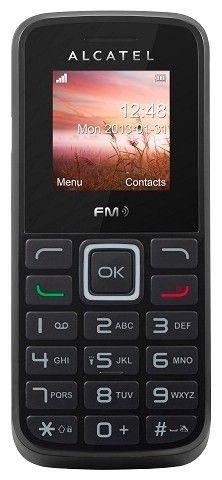 Мобильный телефон Alcatel One Touch 1009X Black