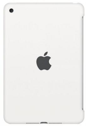 Силиконовый чехол Apple Silicone Case для  iPad mini 4 (MKLL2ZM/A) White