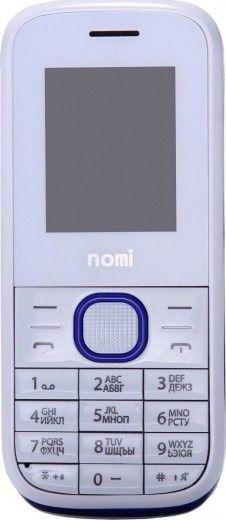 Мобильный телефон Nomi i181 White-Blue