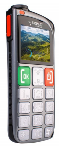 Мобильный телефон Sigma mobile Comfort 50 Light Dual SIM Grey