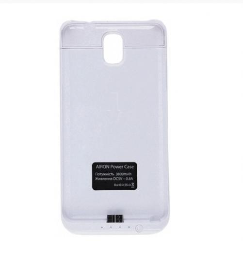 Чехол-аккумулятор AIRON Power Case для Samsung Note 3 White