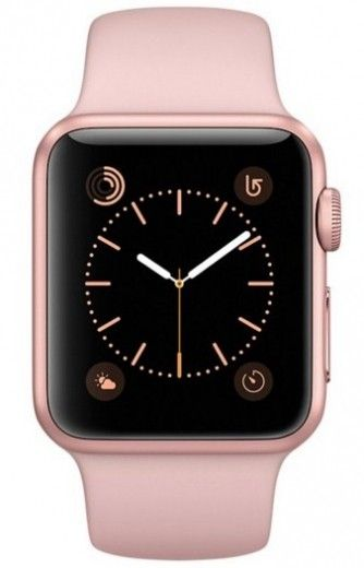 Смарт часы Apple Watch Series 2 38mm Rose Gold Aluminum Case Pink Sand Sport Band