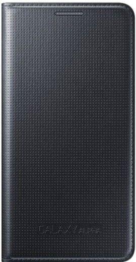 Чехол Samsung Flip Cover для Samsung Galaxy Alpha G850F Black (EF-FG850BBEGRU)