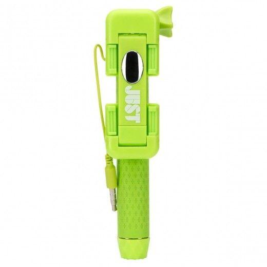 Монопод для селфи JUST Selfie Stick Mini Green (SLF-STKMN-GRN)
