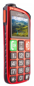 Мобильный телефон Sigma mobile Comfort 50 Light Dual SIM Red