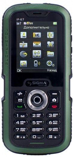 Мобильный телефон Sigma mobile X-treme IP67 Green