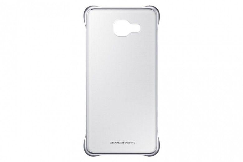 Чехол Clear Cover Samsung для A5 2016 Silver (EF-QA510CSEGRU)