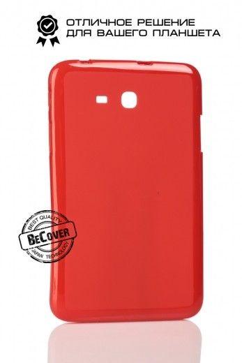Силиконовый чехол BeCover для Samsung Tab 3 Lite T110/T111/T113/T116 Red