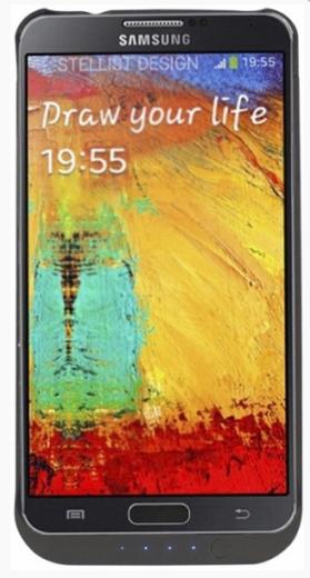 Чехол-аккумулятор AIRON Power Case для Samsung Note 3 Black