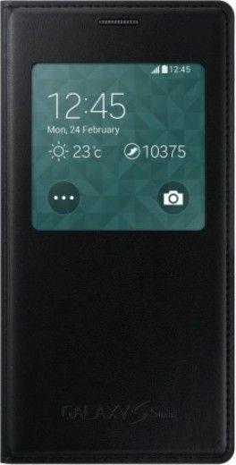 Чехол Samsung S View для Samsung Galaxy S5 Mini G800H Black (EF-CG800BBEGRU)