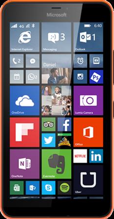 Мобильный телефон Microsoft Lumia 640 XL Dual Sim Orange