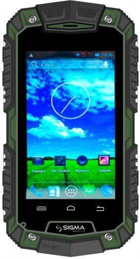 Смартфон Sigma mobile X-treme PQ15 Green