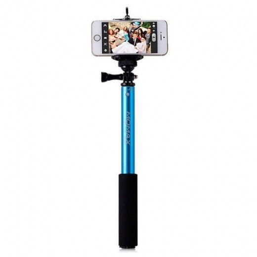 Монопод для селфи MOMAX Selfifit Bluetooth Selfie Pod 90cm Blue (KMS1NB)
