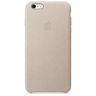 Чехол для Apple iPhone 6s Plus Leather Case Rose Gray (MKXE2)