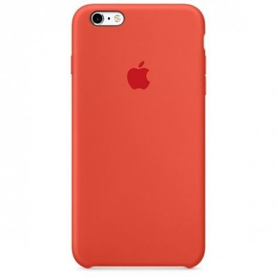 Панель Apple iPhone 6s Silicone Case Orange (MKY62ZM/A)