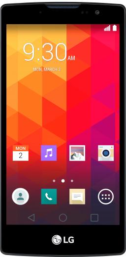 Мобильный телефон LG Spirit Y70 H422 Titan + панель в подарок