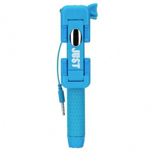 Монопод для селфи JUST Selfie Stick Mini Blue (SLF-STKMN-BLUE)