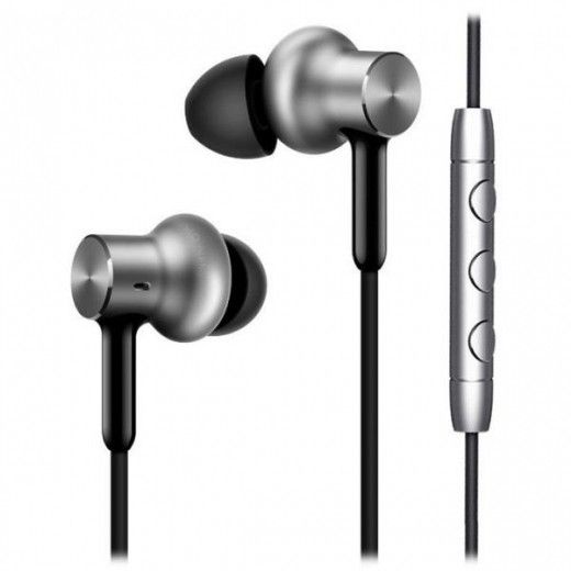 Навушники Xiaomi Mi In-Ear Headphones Pro HD Silver (QTEJ02JY)