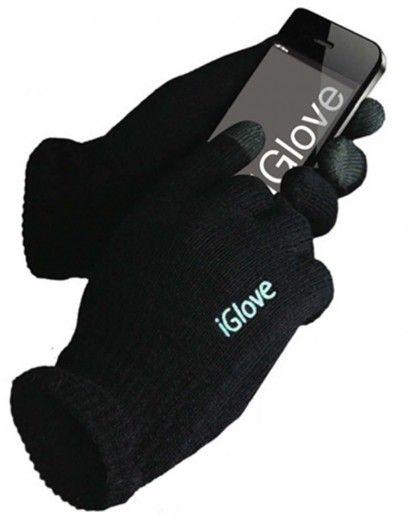 Перчатки для сенсорных экранов iGlove Черные