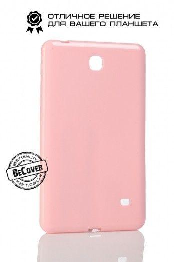 Силиконовый чехол BeCover для Samsung Tab 4 7.0 T230/T231 Pink
