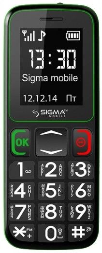 Мобильный телефон Sigma mobile Comfort 50 Mini3 Black-Green