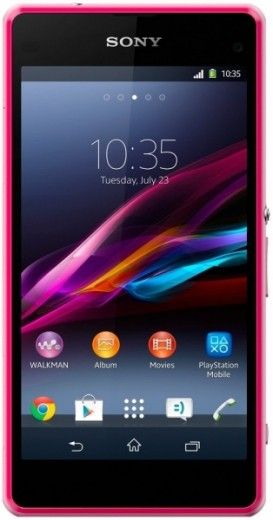 Смартфон Sony D5503 Xperia Z1 Compact Pink