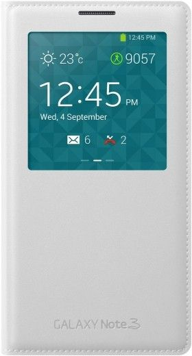 Чехол Samsung для Galaxy Note 3 S View Cover (EF-CN900BWEGRU) White