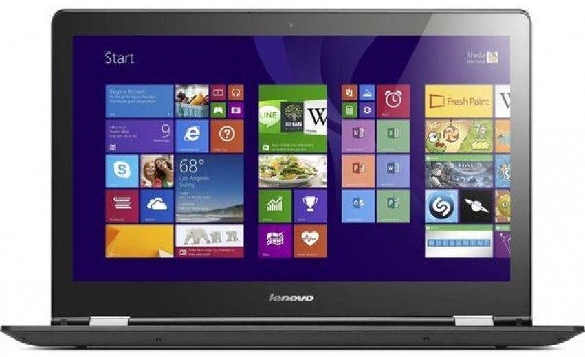 Ноутбук Lenovo Yoga 500-15 (80N600BGUA) Black