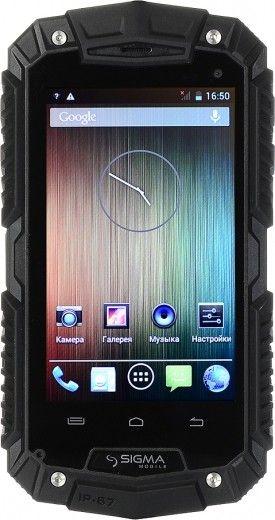 Мобильный телефон Sigma mobile X-treme PQ16 Black