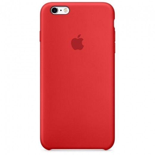 Силиконовый чехол Apple iPhone 6s Plus Silicone Case (MKXM2) Red