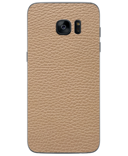 Кожаная наклейка Classic Ivory для Samsung Galaxy S7 edge (G935)