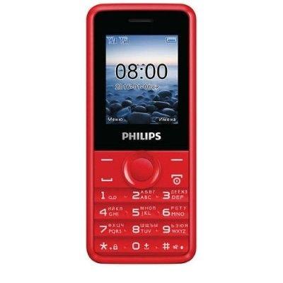 Мобильный телефон Philips Xenium E103 Red