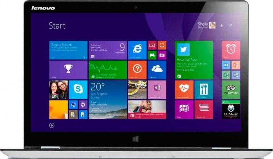 Ноутбук Lenovo Yoga 3 14 (80JH003FUA) White