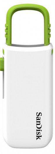 USB флеш накопитель SanDisk Cruzer U 8GB White-green (SDCZ59-008G-B35WG)