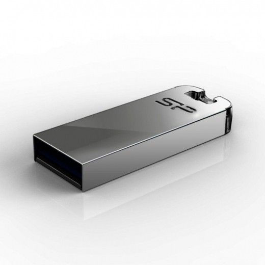 USB флеш накопитель Silicon Power Touch 16GB Silver T03 (SP016GBUF2T03V1F)