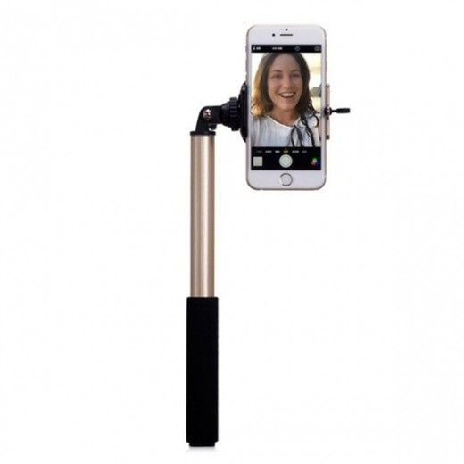 Монопод для селфи MOMAX Selfie Hero Bluetooth Selfie Pod 100cm Pink (KMS7P)