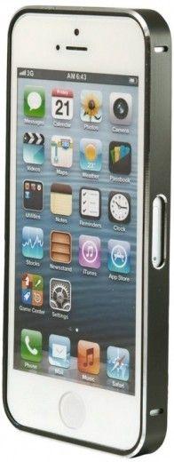 Бампер Metalic Slim iPhone 4 Black