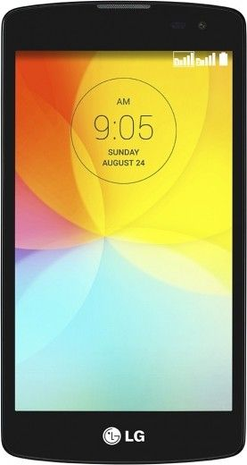 Мобильный телефон LG L Fino D295 Dual Sim Black