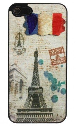 Бампер Perfektum Art series iPhone 5 Paris