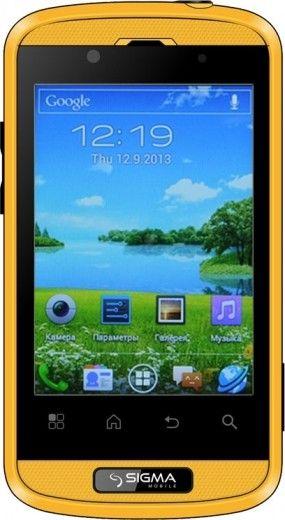 Мобильный телефон Sigma mobile X-treme PQ11 Yellow-Black