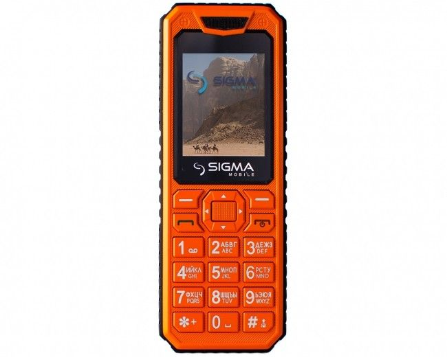 Мобильный телефон Sigma mobile X-style 11 Dragon Оrange
