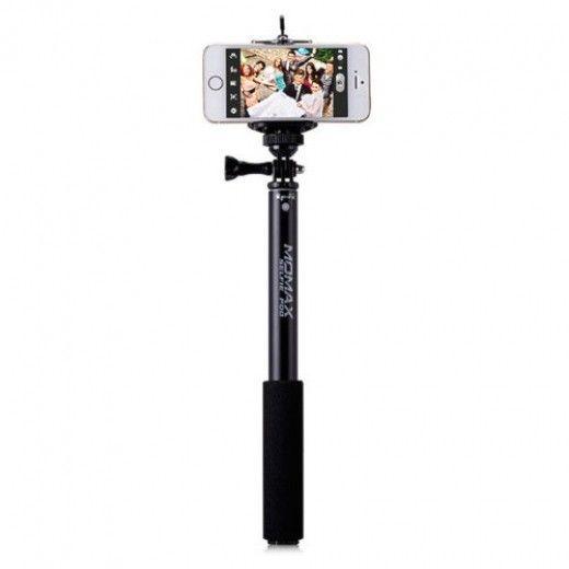 Монопод для селфи MOMAX Selfifit Bluetooth Selfie Pod 90cm Black (KMS1ND)