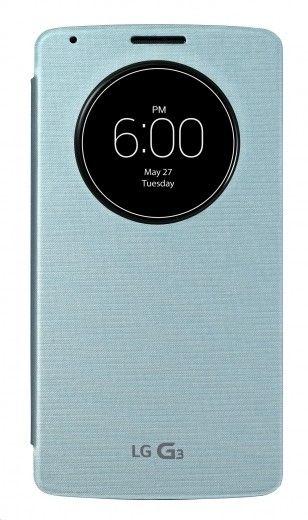 Чехол LG Quick Circle (Snap on) для LG G3 D855 Aqua (CCF-345G.AGEUAQ)